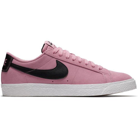 Nike SB Zoom Blazer Low Skate Shoe Elemental Pink/Black-Summit White 864347-600 pure board shop
