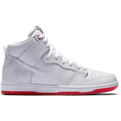 Nike SB Zoom Dunk High Pro Kevin Bradley Quickstrike White/White-University Red AH9613-116 pure board shop