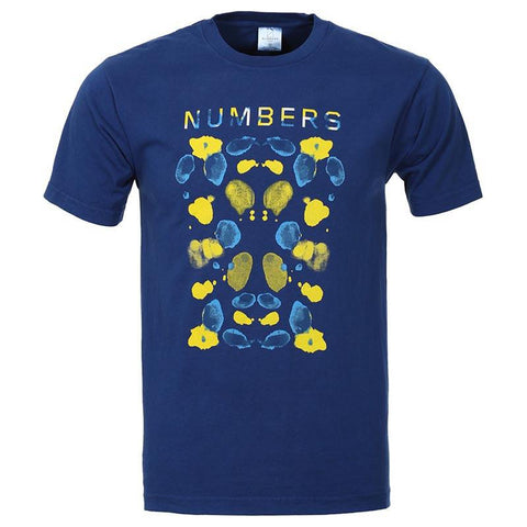Numbers Edition Watercolor T-Shirt Lapis Blue pure board shop