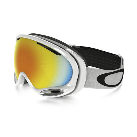 Oakley A-Frame 2.0 Snowboard Goggle 2017 Polished White with Fire Iridium Lens