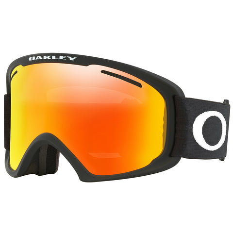 Oakley O Frame 2 XL Snow Goggle Matte Black with Fire Iridium and Bonus Persimmon Lens pure board shop