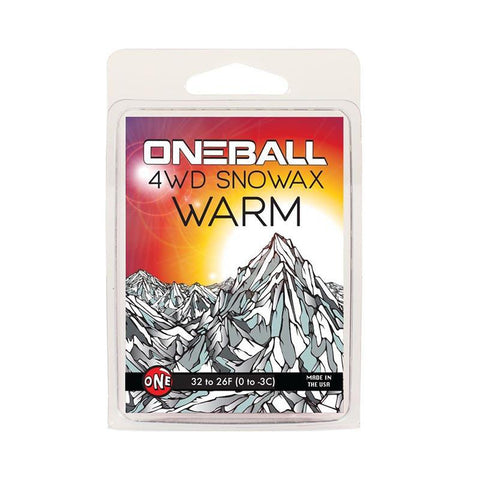 One-Ball Jay 4WD Snow Wax Warm pure board shop