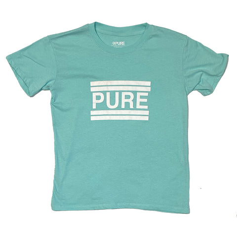 PURE Classic Youth T Shirt Mint Pure board shop annapolis maryland