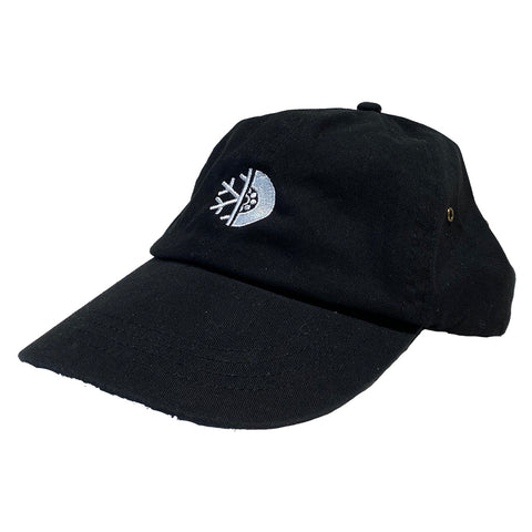 PURE FW Dad Hat Black White Pure Board Shop Annapolis Maryland