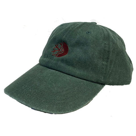 PURE FW Pigment Dyed Dad Hat Pine Maroon Pure board Shop annapolis maryland