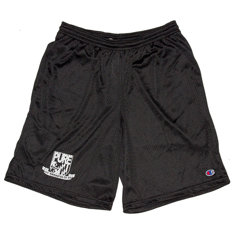 PURE PURE Champ Crest Mesh Shorts Pure Board Shop