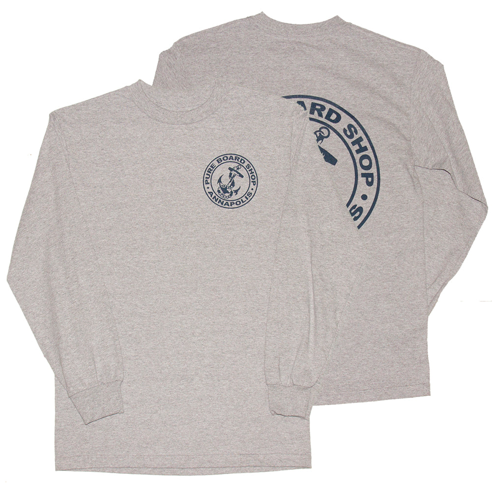 PURE OG Anchor Long Sleeve T-Shirt