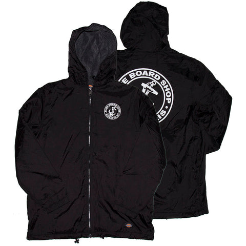 PURE X Dickies OG Anchor Fleece Linded Jacket Black pure board shop fall 2018