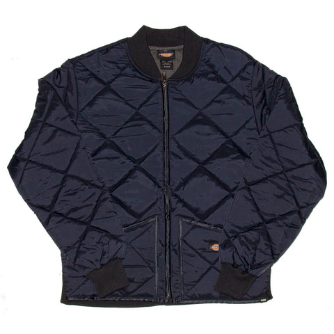 PURE X Dickies Quilted Bomber Jacket Dark Navy pure board shop fall 2018
