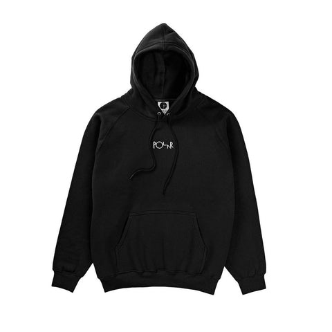 Polar Skate Co Default Hoodie Black pure board shop
