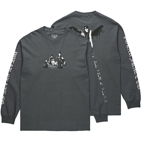 Polar Skate Co Rituals Long Sleeve T Shirt Polar Skate Co Fall 2018 pure board shop