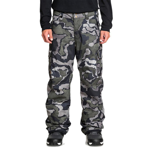 Quiksilver Porter Insulated Snowboard Pants Black Sir Edwards KVJ5 Pure Board Shop