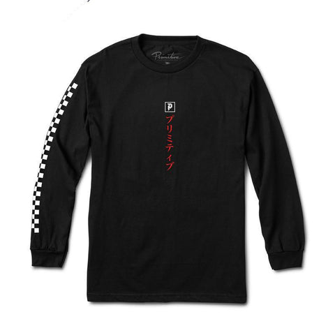 Primitive Primitive Samurai Long Sleeve T-Shirt Pure Board Shop