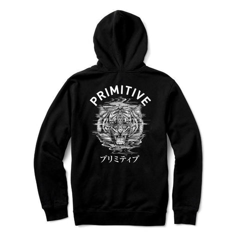 Primitive Tiger Pullover Hoodie Black Primitive X Paul Jackson pure board shop