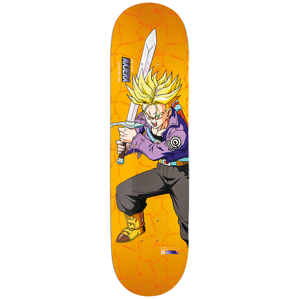 Primitive X Dragon Ball Z 2 Najera Super Saiyan Trunks Skateboard Deck 8.125