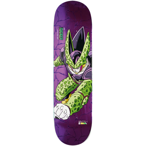 Primitive X Dragon Ball Z 2 Tucker Perfect Cell Skateboard Deck 8