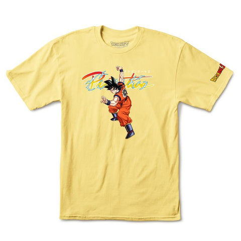 Primitive X Dragon Ball Z Nuevo Goku T Shirt Banana PAPSU1844DBZ