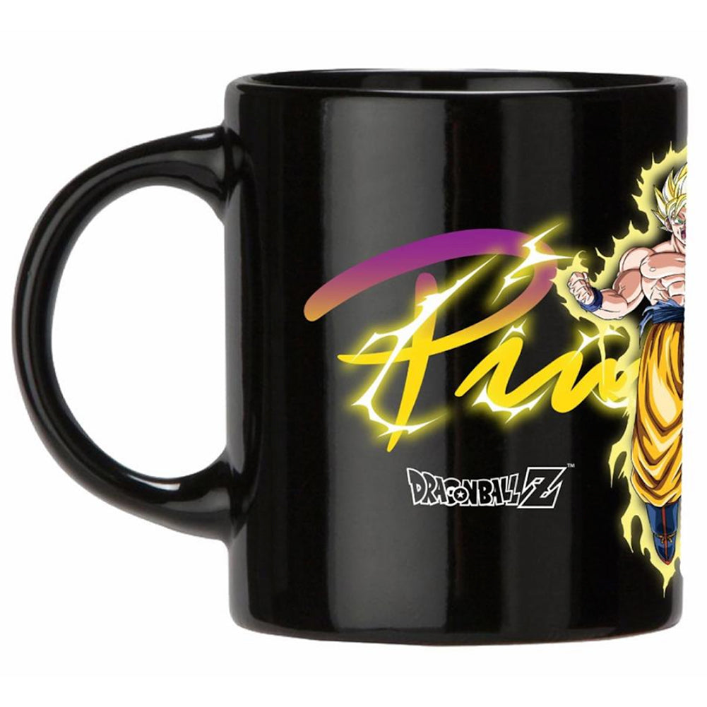 Primitive X Dragon Ball Z Goku Super Saiyan Heat Mug