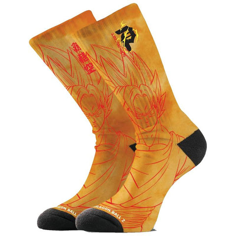 Primitive X Dragon Ball Z Goku Super Saiyan Socks