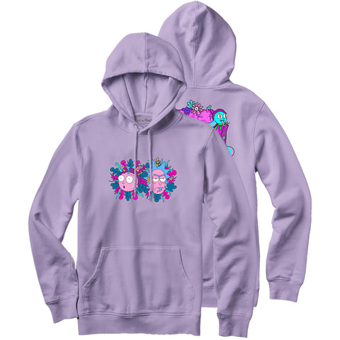 Primitive X Rick and Morty Dirty P R&M Pullover Hoody Lavender PAPFA1832 pure board shop