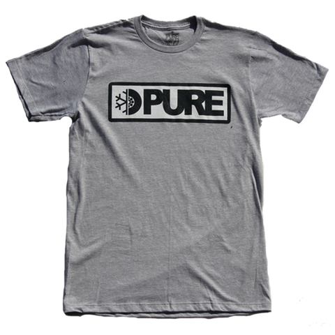 Pure Bar Logo Youth T-Shirt Athletic Heather pure board shop