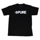 Pure FW Block T-Shirt Black pure board shop
