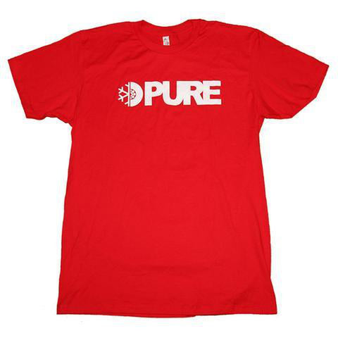 Pure Flake Wheel Block Youth T-Shirt red pure board shop