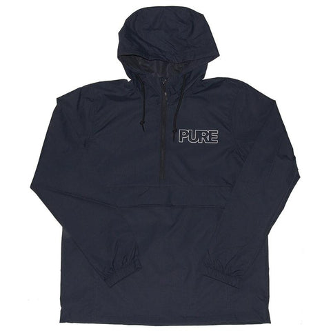 PURE Outline Anorak Jacket Navy pure board shop