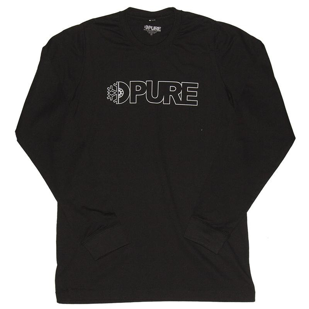 PURE Outline Premium Long Sleeve T-Shirt