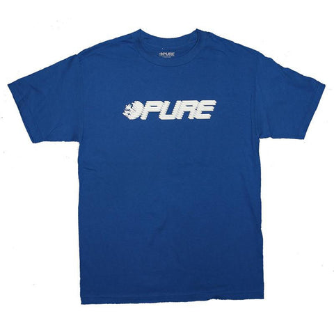 Pure Speed T-Shirt Royal pure board shop