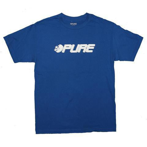 Pure Speed Youth T-shirt royal pure board shop