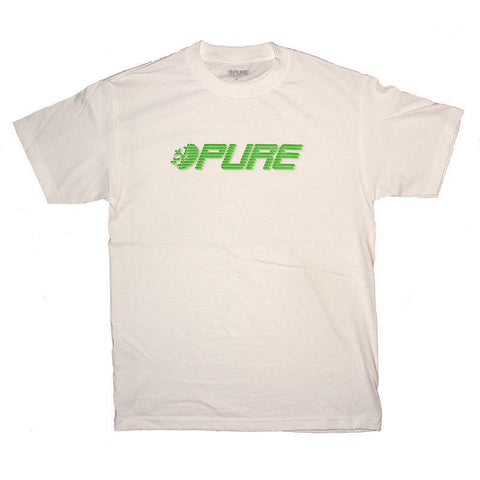Pure Speed T-Shirt White Pure board Shop