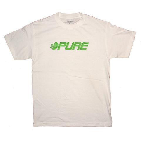 Pure Speed Youth T-shirt White pure board shop
