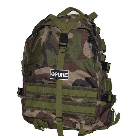 Pure Transport Backpack Woodland Camo pure board shop