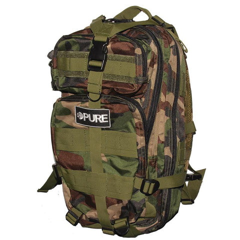 Pure Transport Mid-Size Backpack woodland camo pure board shop