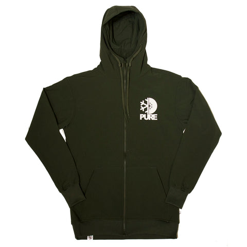 PURE PURE X CG Tech Zip Hoodie Pure Board Shop