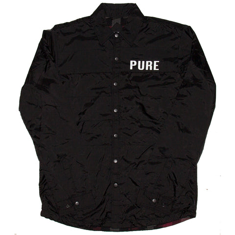 Pure X Dickies Shirt Jacket Black Pure Fall 2018