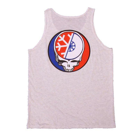 Pure Your Face Tank Top ash heather