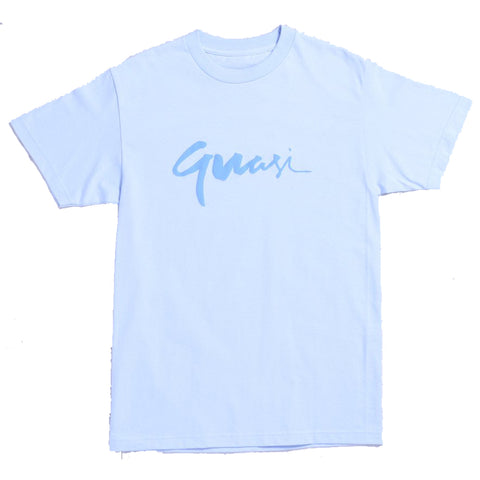 Quasi Century T Shirt Powder Blue Quasi Fall 2019 Pure Board Shop
