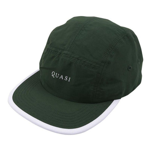 Quasi Five 5 Panel Hat forest pure board shop