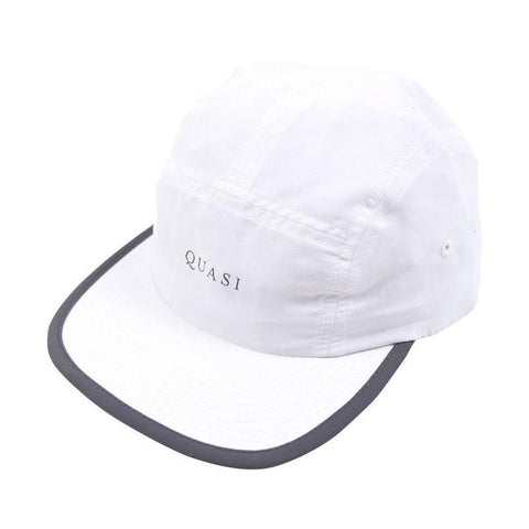 Quasi Five 5 Panel Hat white pure board shop