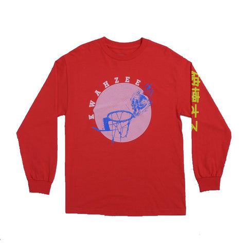 Quasi Skateboards Skynet Long Sleeve T-Shirt Red