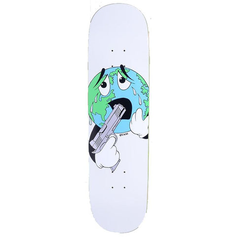 Quasi World Skateboard Deck White Quasi Collection 2 summer 2018