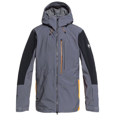 Quiksilver Travis Rice Stretch Shell Snowboard Jacket Iron Gate KZM0 eqytj03255 pure board shop