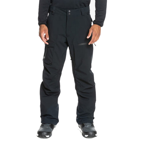 Quiksilver Utility Shell Snowboard Pants True Black KVJ0 eqytp03140 pure board shop