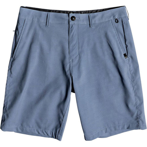 Quiksilver Transit Twill Amphibian 20 Hybrid Short Real Teal BPR0 EQYWS03494 pure board shop