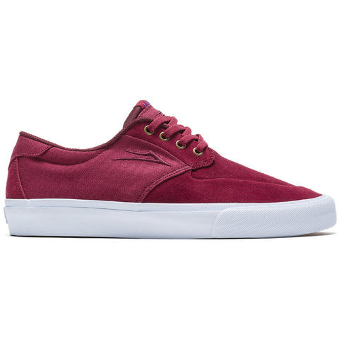 Lakai Riley 3 Skate Shoes Cardinal White Pure Board Shop