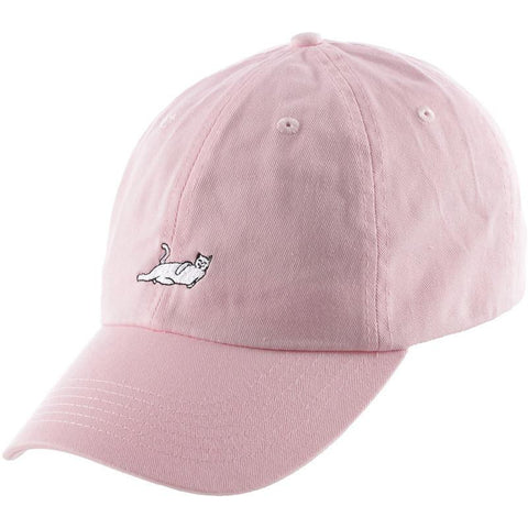 RIPNDIP Castanza 6 Panel Dad Hat light pink