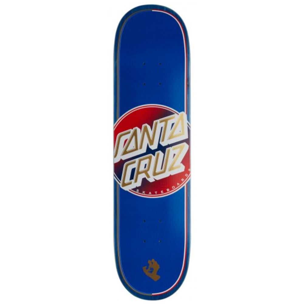 Santa Cruz Steadfast Dot VX Skateboard Deck 8.0