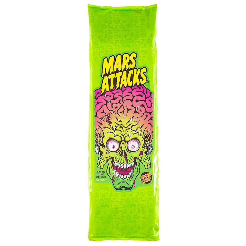 Santa Cruz Mars Attacks Skateboard Deck 8.25